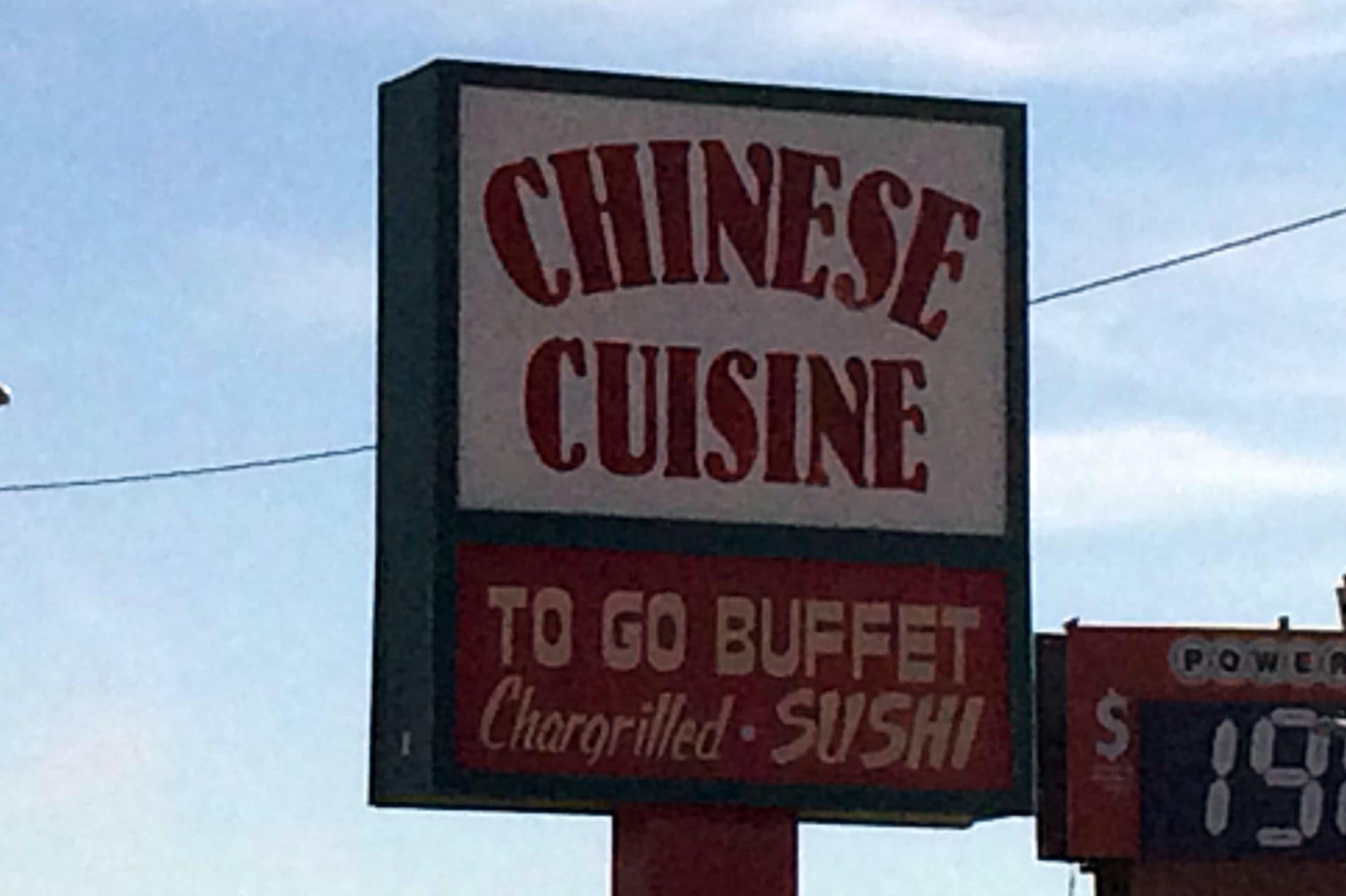 Chinese Cuisine Menu | Odessa Menus