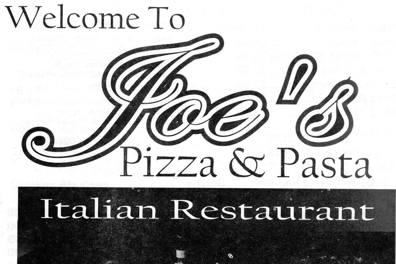 Joe\'s Pizza & Pasta Italian Menu – Andrews | Odessa Menus