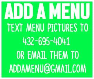 add a menu